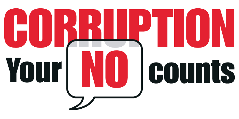 Will you please standup against corruption?