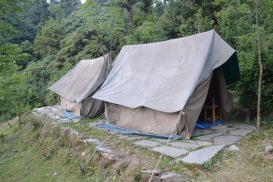 Tent in Deoria Taal