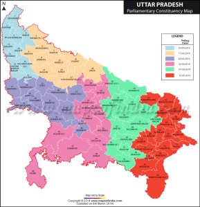 uttar-pradesh-parliamentary-constituency-map